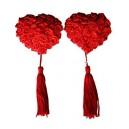 Pezonera corazón de rosas